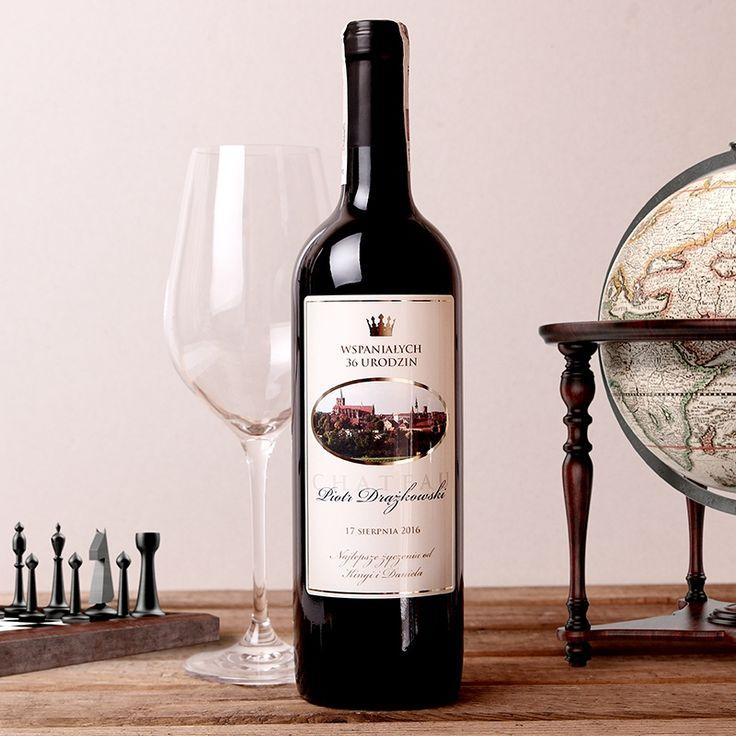 Personalizowane Czerwone Wino CHATEAU DOR