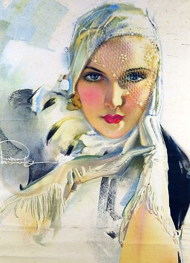 vintage rolf armstrong |  Rolf Armstrong (1889-1960)