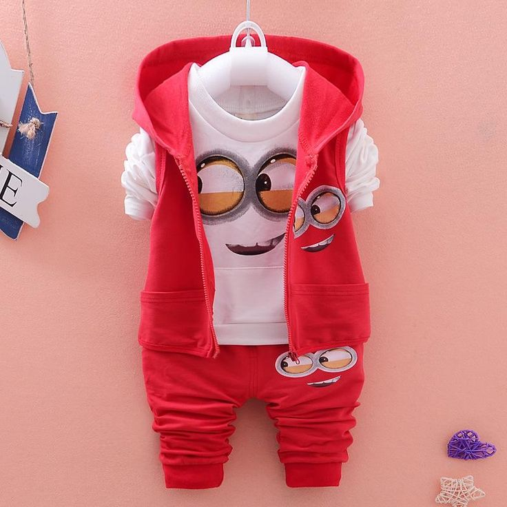 $17.20 (Buy here: https://alitems.com/g/1e8d114494ebda23ff8b16525dc3e8/?i=5&ulp=https%3A%2F%2Fwww.aliexpress.com%2Fitem%2FAutumn-Baby-Girls-Boys-Minion-Suits-Infant-Newborn-Clothes-Sets-Kids-3-Pcs-Sets-Children-Suits%2F32648830357.html ) Autumn Baby Girls & Boys Minion Suits Infant Newborn Clothes Sets Kids 3 Pcs Sets Children Suits for just $17.20
