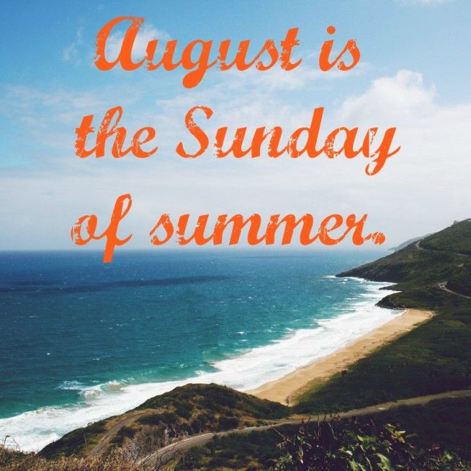 Quote of the Week // End of Summer - KendraNicole.net