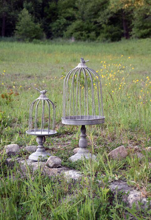 Birdcage flower styling outdoor www.thewonderwood.com www.facebook.com/thewonderwoodstore