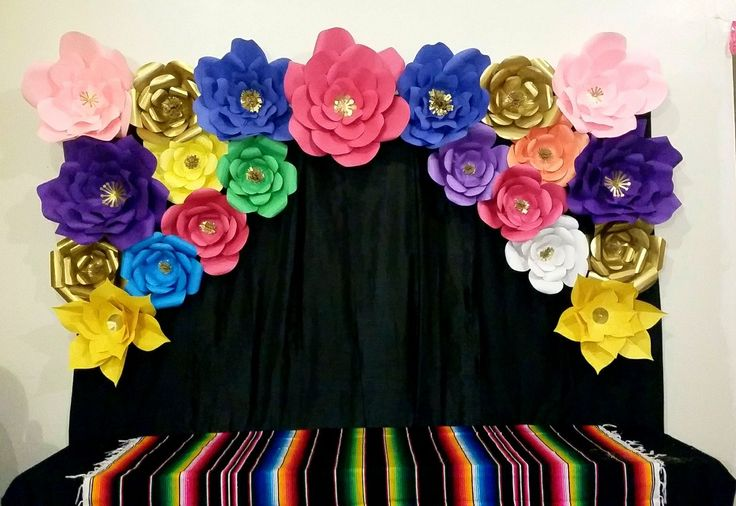 Fiesta Baby Shower Decor