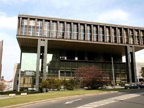 Nová budova Národního muzea v Praze