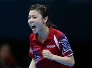 Bay Area teenager in the #Olympics for table tennis.  Not bad!