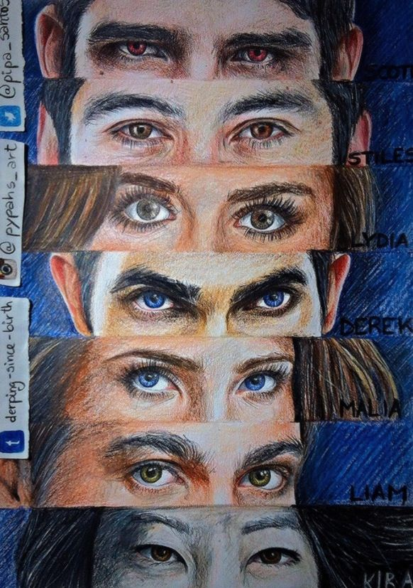 Whoever drew these... Wow teen