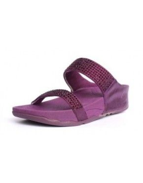 2014 Womens Fitflop Rock Chic Purple Shoes