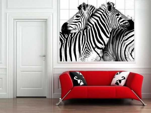 Zebra Hall Wall Tiles Black White   Dream House Architecture Design, Home  Interior U0026 Furniture Design   Newhouseofart.