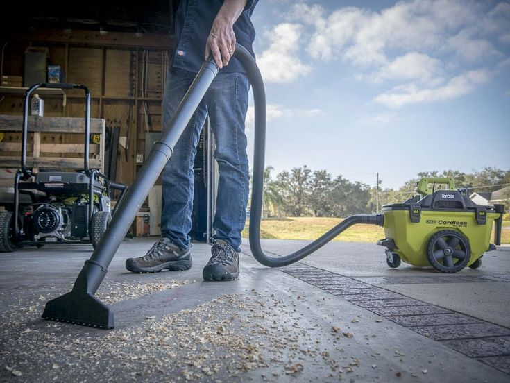 The Ryobi cordless shop vac promises to give you enough power to cut the cord, but can it deliver? We have the full review!  https://www.protoolreviews.com/tools/power/cordless/vacuums/ryobi-cordless-shop-vac-review-p770/34951/  #Ryobi #vacuum #shopvac #cordless #tools #18V #DIY