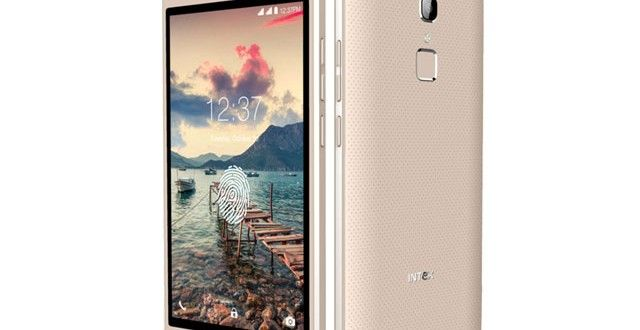 Budget Fingerprint sensor Smartphone: Intex Cloud Scan FP at Rs. 3,999