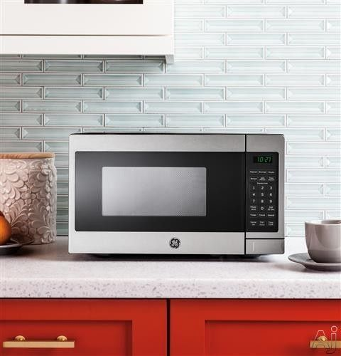 GE JEM3072 0.7 cu. ft. Countertop Microwave Oven with 700 Watts, Auto ...