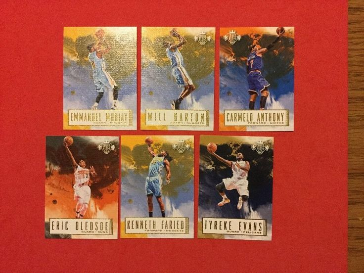 2016/17 Panini Court Kings Various Players Inc Will Barton Lot Of 6