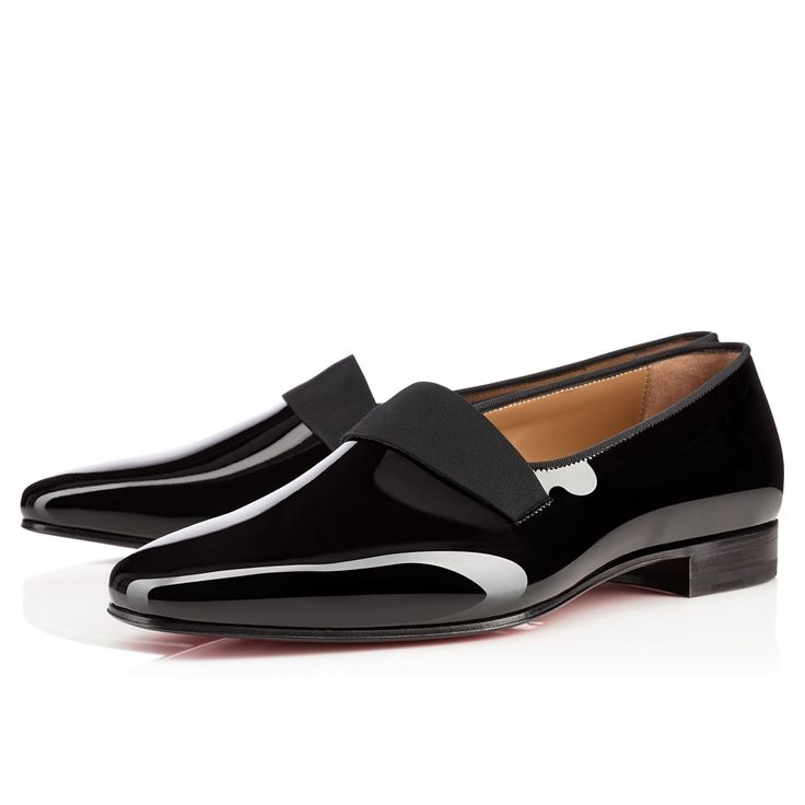 Smoker Flat Black Patent Leather