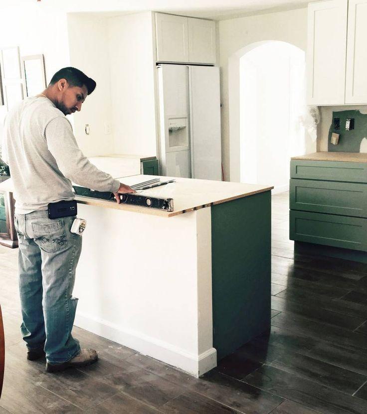 Quartz countertop installation start to finish