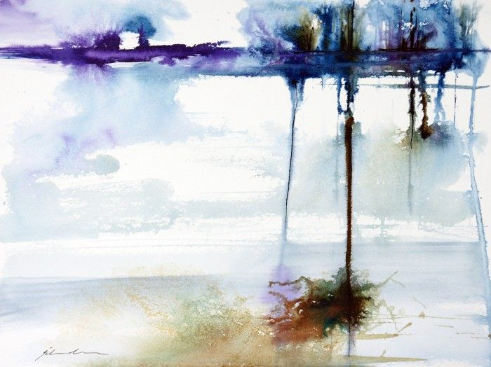 Winter Waterscape by Jill Bryant. Paintings for Sale. Bluethumb - Online Art Gallery