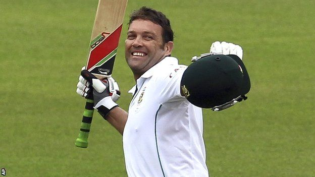 Jacques Kallis: South African hits century in final Test