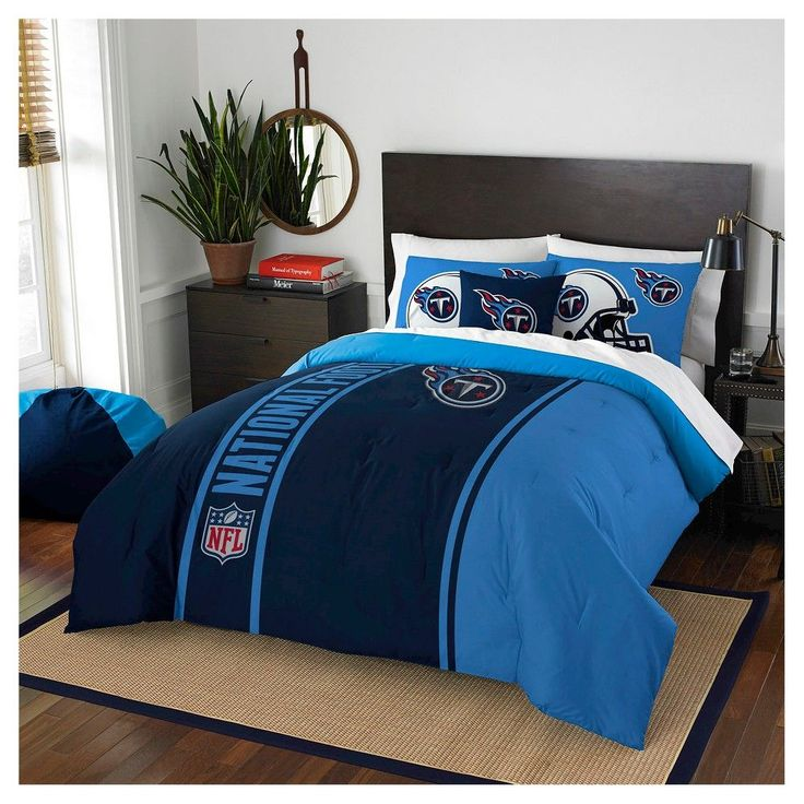 868f0ddc7f252 Northwest Tennessee Titans Full Comforter and 2 Shams