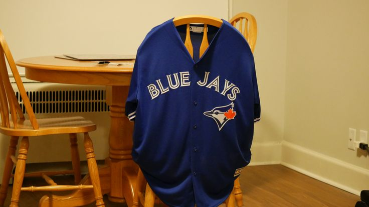 Blue Jays won a must-win game tonight. I won a Blue Jays jersey at a local bar where I watched the game.