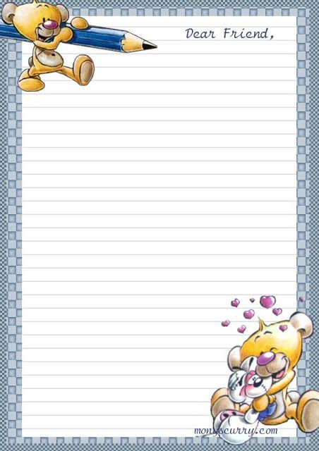 203 best Papel de Carta images on Pinterest Stationery, Drawings - free lined stationery