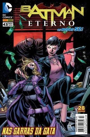 LIGA HQ - COMIC SHOP BATMAN ETERNO #43 PARA OS NOSSOS HERÓIS NÃO HÁ DISTÂNCIA!!!