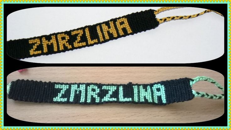 Friendship bracelet Zmrzlina