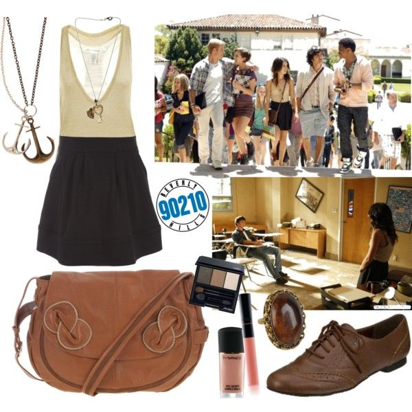 """90210, Annie Wilson"" by mlle-herrera on Polyvore"