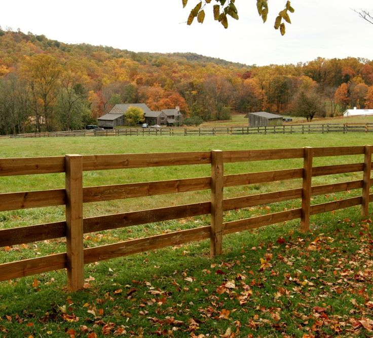 Farm Fence. maybe add a base board around the bottom to keep the dogs in the yard
