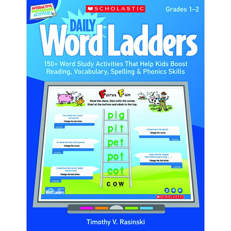DAILY WORD LADDERS GR 1-2
