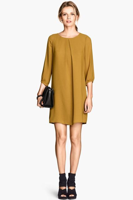 30 Fall Dresses For Every Occasion  #refinery29  http://www.refinery29.com/fall-dresses#slide-1  Work Meeting