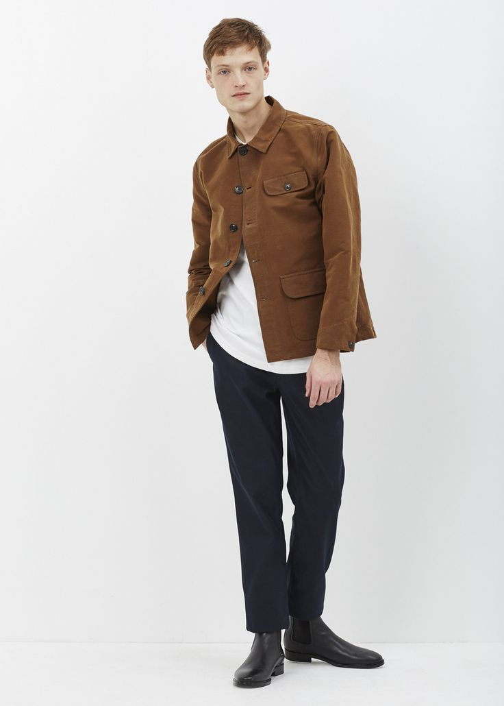 Unis Chase Hunting Jacket (Brown)