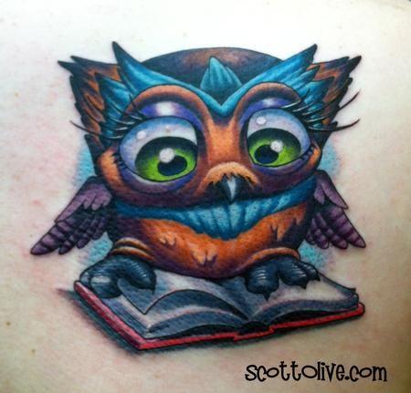 15 best owl books tattoos images on pinterest book for Tattoo artist job description