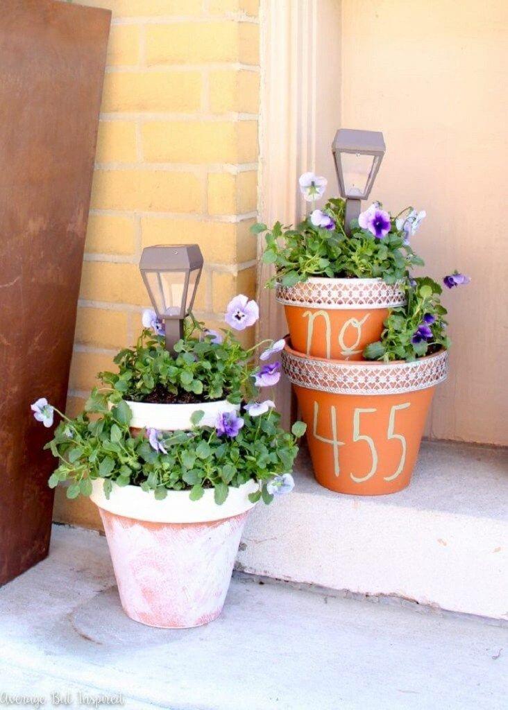 diy outdoor planters ideas
