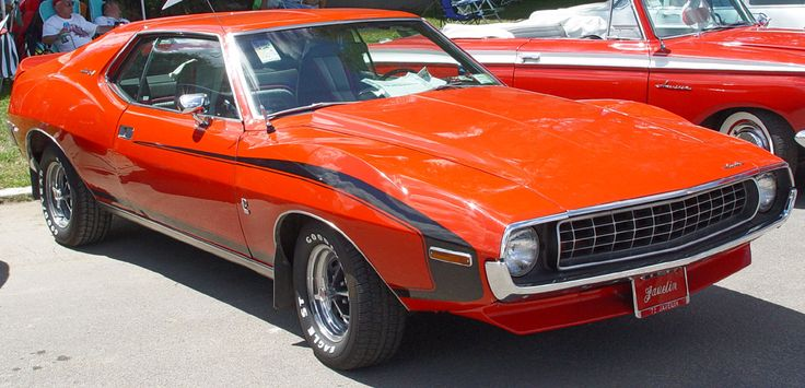 1972 AMC Javelin - Red with Black Stripe -