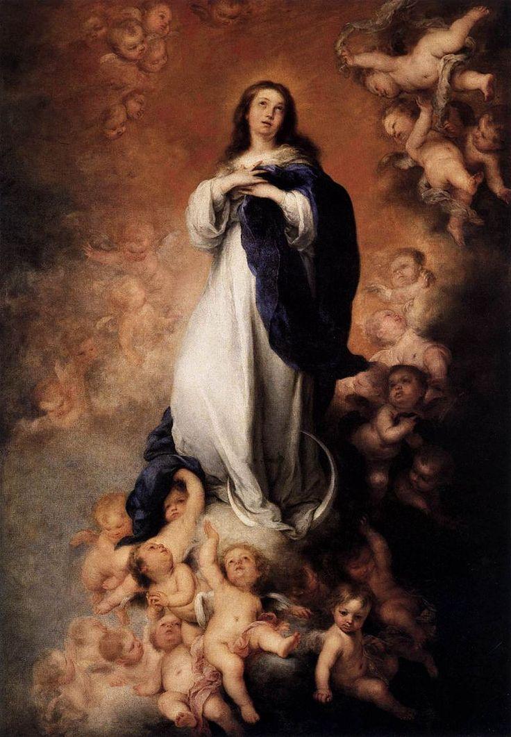 Bartolomé Esteban Perez Murillo - Immaculate Conception - WGA16401 - プラド美術館 - Wikipedia