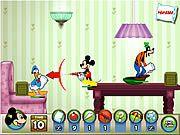 Game Mickey và những người bạn là một trong những game thuộc thể loại game chiến lược với các nhân vật hoạt hình Disney quen thuộc như chú chuột Mickey chú vịt Donald và Goofy. Trong trò chơi mickey và nhữn