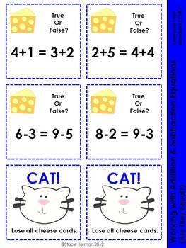 Cat and Mouse - understanding equal sign