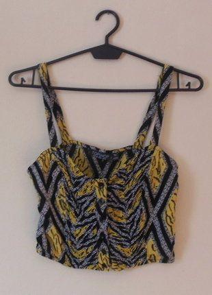 Kup mój przedmiot na #vintedpl http://www.vinted.pl/damska-odziez/topy-koszulki-i-t-shirty-inne/16848619-topshop-top-bralet-36-38