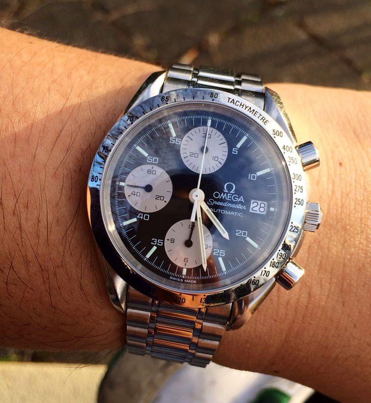 My Omega Speedmaster Automatic Date. Ref.3511.50 Cal.1152(ETA Valjoux 7750)
