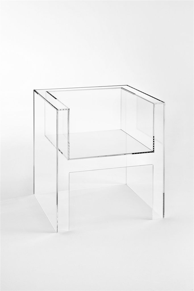 The Invisible light chair by Kartell