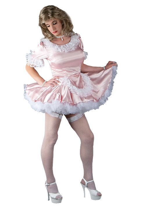 Exclusive Suddenly Fem Maid Dress Pink Maid Dress