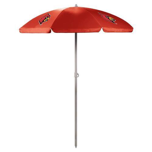 Louisville Cardinals Umbrella Tall Beach Canopy