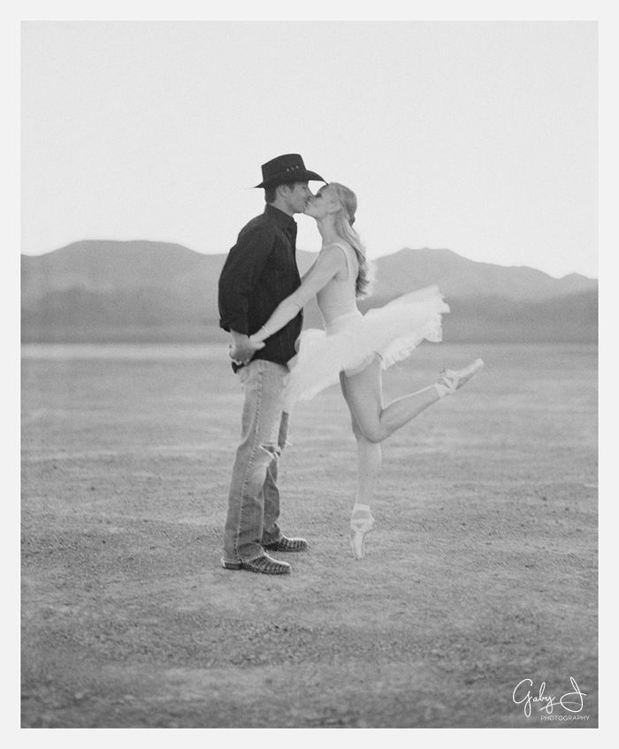 Ballerina and country boy!