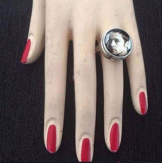 Brad Pitt ring adjustable Brad Pitt ring unisex ring