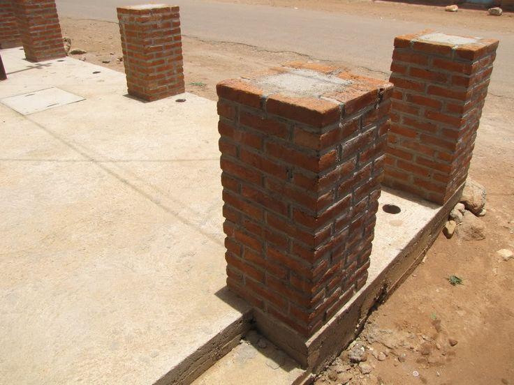 Pillar Concrete Buildings : How to reinforce brick column google search building
