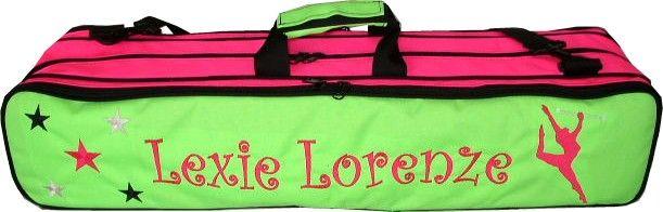 Monogram Baton Majorette Custom Bags Twirling 3 Pinterest