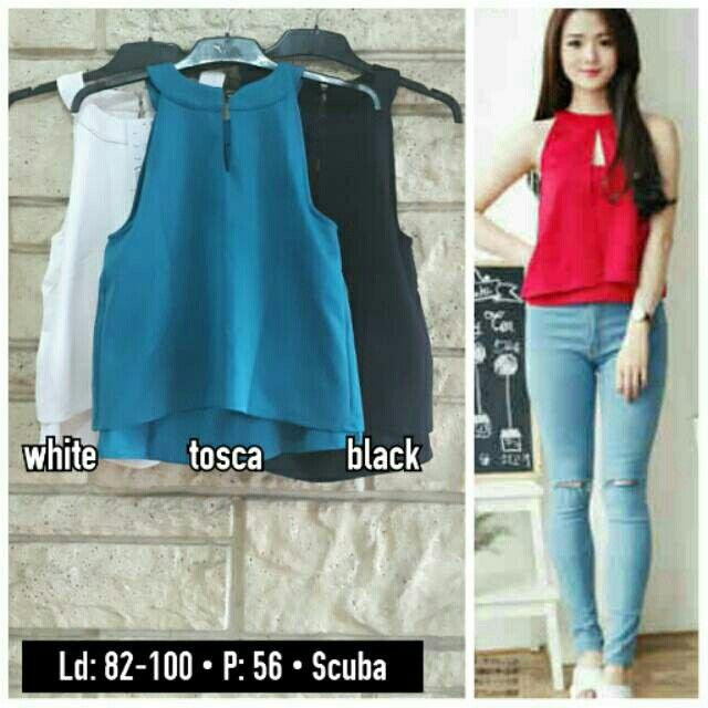 Saya menjual Halter top / blouse halter 8382 seharga Rp75.000. Dapatkan produk ini hanya di Shopee! {{product_link}} #ShopeeID