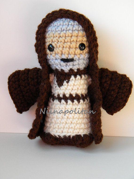 Obi-Wan Kenobi  MADE TO ORDER  Star Wars Amigurumi by Niinapolitan
