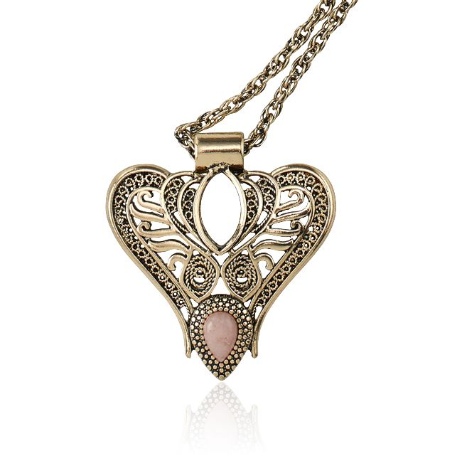 SW YOUNG ROYALS NECKLACE, GOLD
