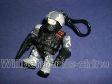 SWAT Teams PoliceMan Action Figure Bag Dangle Charm Ornament Keychain Decoration