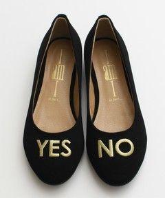 I am I / YES NO フラットシューズ(パンプス)