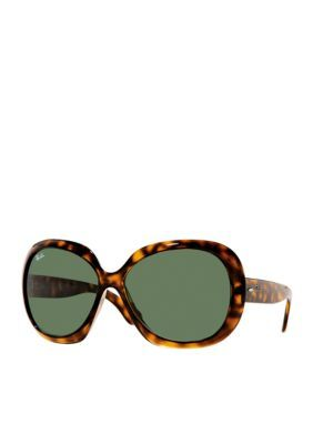 """Ray-Ban Women's Oversized """"Jackie O""""  60-Mm. Sunglasses - Brown - One Size"""